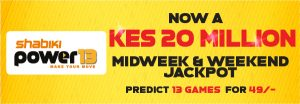 Shabiki Power 13 Midweek Jackpot Games Analysis Tips October 23 2019 Shabiki Power 13 Jackpot 13 Games October 24 2019 Shabiki Power13 Matches Prediction